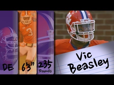 Official 2013 Highlights Vic Beasley video.