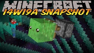 Minecraft Snapshot 14w19a (Minecraft 1.8) - MORE BORDER COMMANDS&HORIZONTAL SLIME BLOCK PISTONS!