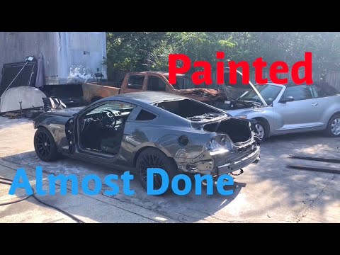 Rebuilding A Wrecked 2017 Ford Mustang GT Part 12