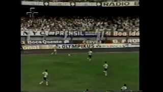 Relembre o título do Peixe no Campeonato Paulista de 1984. Com gol de Serginho Chulapa, o Santos derrotou o Corinthians na...