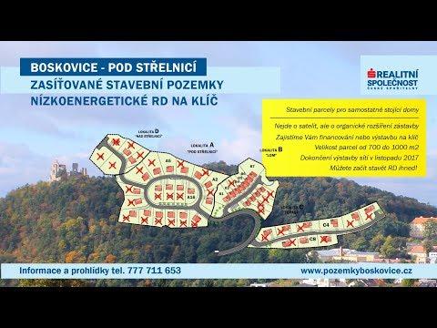 Prodej, Pozemek stavební - bydlení, od 705 m2, okr. Blansko