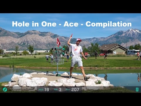 Disc Golf - Hole in One - Ace - Compilation - 2017
