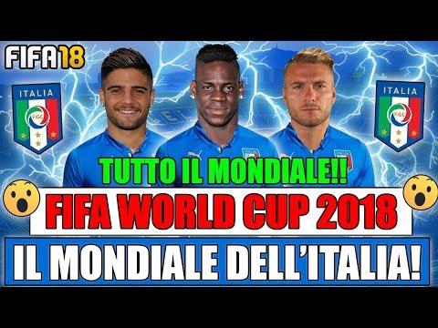 TUTTO IL MONDIALE CON L'ITALIA IN UN UNICO VIDEO!! FIFA WORLD CUP 2018 [EPISODIO 1]