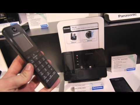 Panasonic PRL260 DECT Telephone with iPhone Dock Hands On