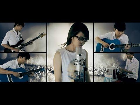 Hoa Tím Người Xưa - Ái Tâm ft Mitxi Tòng (Acoustic Cover)