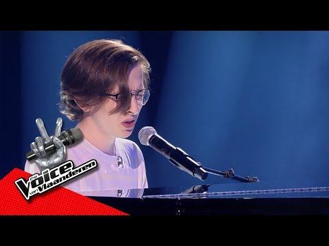 Ibe - 'Tenerife Sea'   Blind Auditions   The Voice Van Vlaanderen   VTM