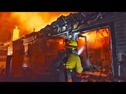 Kalifornien: Feuerwehr im Dauereinsatz - Waldbrand zerstört 20 Häuser