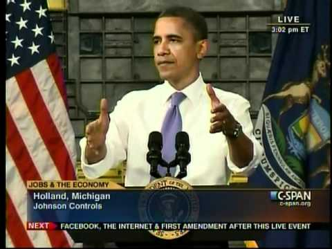 President Obama's Remarks in Hollland, MI thumbnail