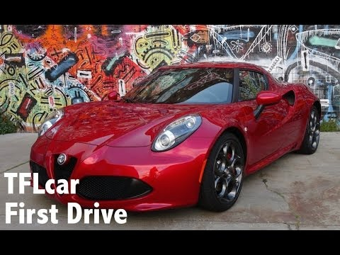 2015 Alfa Romeo 4C First Drive Review: A Budget Ferrari?