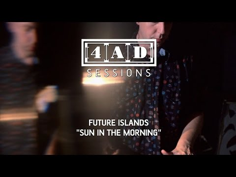 Future Islands debut 4AD Session