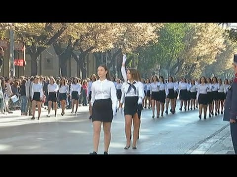 Μαθητική παρέλαση για την 28η Οκτωβρίου στη Θεσσαλονίκη