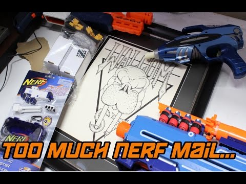 NERF FAN MAIL UNBOXING #3 - The Smallest Nerf Blaster and the Biggest Heart.