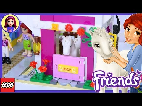 Lego Friends Sunshine Ranch Part 1 Build Review Silly Play - Kids Toys