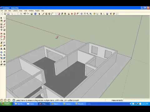 sketchup - day la cach ve don gian nhat ma minh vua up len cho cac ban co thak mak xin lien he wa nguyenducanh629@yahoo.com thank.