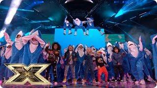 Baby Shark on the X Factor Final   Final   The X Factor UK 2018