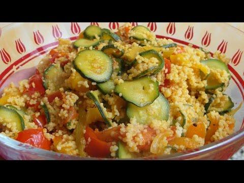 cus cus con verdure estive - ricetta