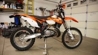 3. 2013 KTM 300 XC Walk Around