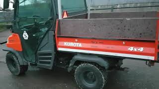 8. Kubota RTV 900 full Spec