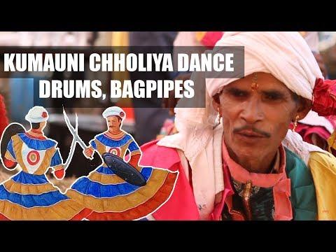 Video Kumauni Chholiya Dance | Drums, Bagpipes and Choliya Dance | Rangilo Uttarakhand | रंगीलो उत्तराखण्ड download in MP3, 3GP, MP4, WEBM, AVI, FLV January 2017