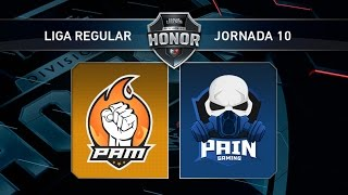 PAM eSports vs Pain Gaming - #LoLHonor10 - Mapa 1 - Jornada 10 - T11