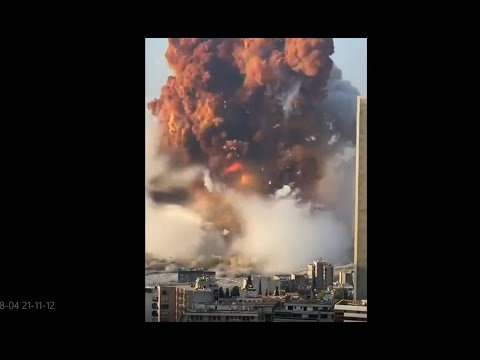Potężny wybuch w Bejrucie – trwa akcja ratunkowa