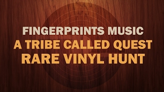 A Tribe Called Quest RARE PROMO Vinyl Hunt at Fingerprints Music