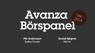 Avanza Börspanel - december 2014