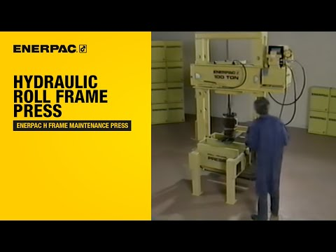 Enerpac H Frame Maintenance Press