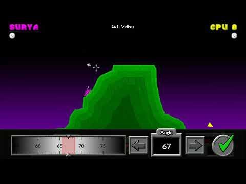 Pocket Tanks Game - The Perfect Angle
