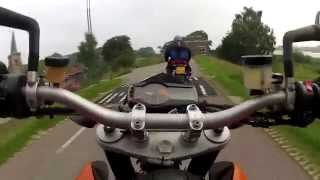 4. KTM Duke 690: Test of user, acceleration, vast curves, reliability