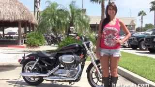 9. Used 2014 Harley Davidson Sportster  883 Superlow Motorcycles for sale