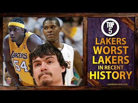 lakers - Here's those five Lakers players that Lakers fans wished never to think about again. Remember DJ Mbenga and Adam Morrison? Who tops our list? Join the Largest Lakers Fan Site in the World...