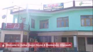 Dhanaulti India  City pictures : Hotel Satkar Guest House & Restaurant, Dhanaulti, India! Book now with MyGuestHouse.com