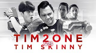 Video TIM2ONE vs TIMSKINNY | Join My Team For The Ultimate Tantangan Nerf! MP3, 3GP, MP4, WEBM, AVI, FLV Juni 2018