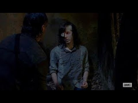 "The Walking Dead 8x08 Ending Scene ""Carl was bitten"" Season 8 Episode 8 HD ""How It's Gotta Be"""