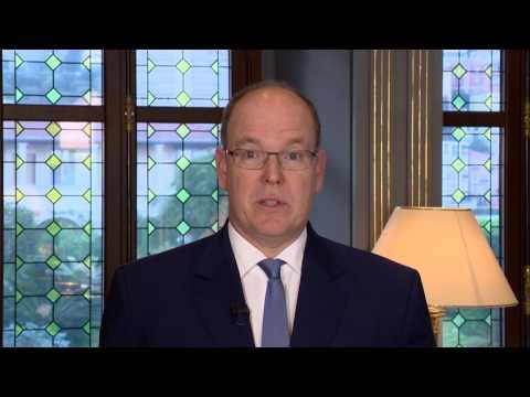 Intervention de S.A.S. le Prince Albert II de Monaco auprès de l'ONU, en vue d'accélérer la mise en place de l'Accord de Paris sur le changement climatique
