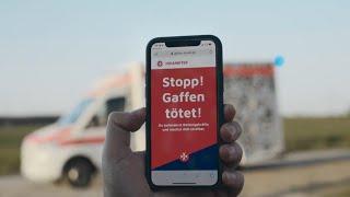 Johanniter - Gaffen tötet! (Werbung)