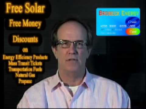 The Energy Credit Card from Brobeck Solar Energy