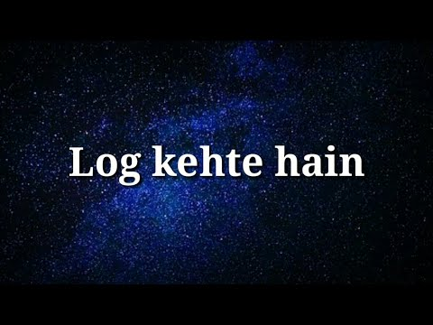 Very heart touching lines | Best Hindi love lines | Log kehte hain