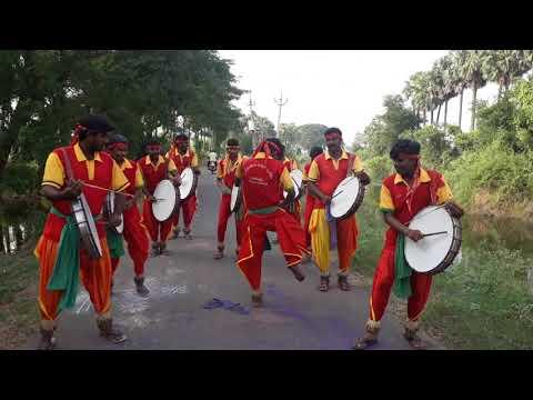 Dappu dance Sri srinivasa jaanapadha dappula brundam GARIKAPARRU {1}