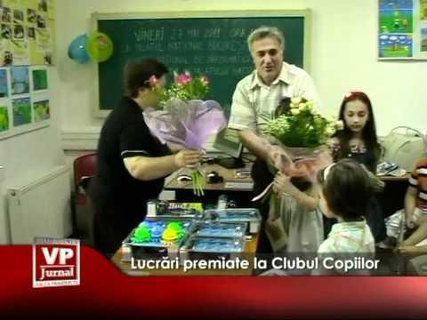 Lucrări premiate la Clubul Copiilor