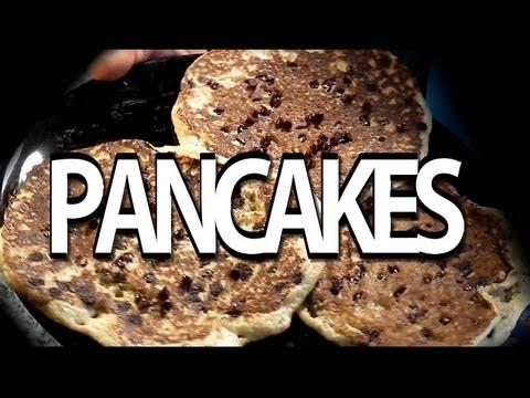 colazioni prima della palestra: pancake proteici senza p. in polvere