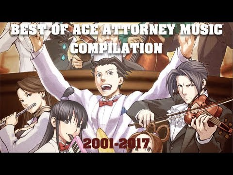 Best of Ace Attorney Music Compilation (2001-2017)