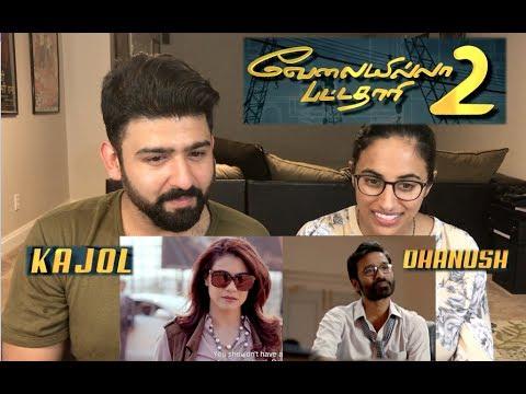VIP 2 Trailer Reaction | Dhanush, Kajol |Tamil Film Reaction | by RajDeep (видео)