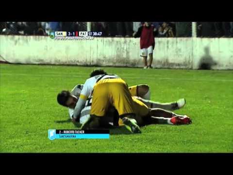 Gol de Tucker. Santamarina 3 – Patronato 1. Final Reducido. B Nacional 2015.