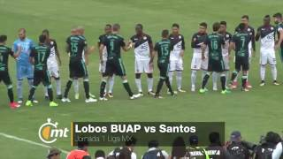 Lobos BUAP vs Santos 2-2 Goles y resumen Jornada 1 Apertura 2017 Liga MX