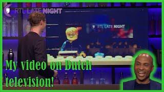 Ik ben met mijn video van RTL late Night in LEGO op televisie geweest bij RTL Late Night zelf! Dat was echt super gaaf! Daarnaast hadden ze ook nog een veras...