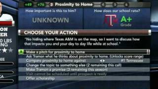 NCAA Football 11 Recruiting Tips