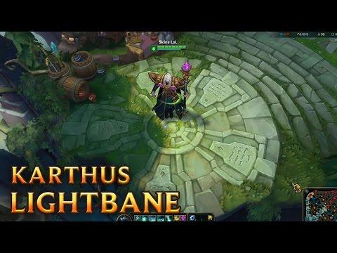 Karthus Hoàng Tử Tai Ương - Karthus Lightbane