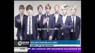 Video BTS SAPA FANS DENGAN BAHASA INDONESIA [ LENSA INDONESIA SIANG RTV 04 APRIL  2017 ] MP3, 3GP, MP4, WEBM, AVI, FLV Desember 2017